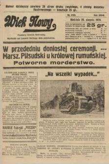 Wiek Nowy : popularny dziennik ilustrowany. 1928, nr8153