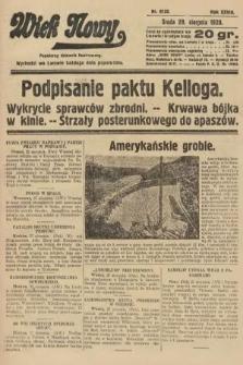 Wiek Nowy : popularny dziennik ilustrowany. 1928, nr8155