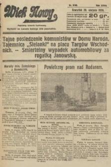 Wiek Nowy : popularny dziennik ilustrowany. 1928, nr8156