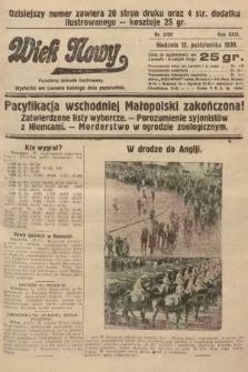 Wiek Nowy : popularny dziennik ilustrowany. 1930, nr8795
