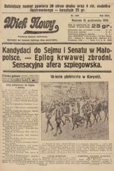 Wiek Nowy : popularny dziennik ilustrowany. 1930, nr8801