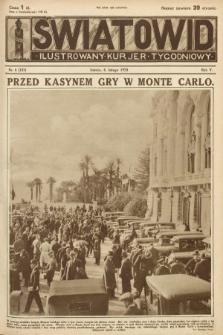 Światowid : ilustrowany kurjer tygodniowy. 1928, nr6