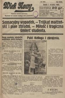 Wiek Nowy : popularny dziennik ilustrowany. 1928, nr8158