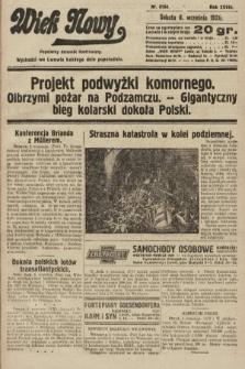 Wiek Nowy : popularny dziennik ilustrowany. 1928, nr8164