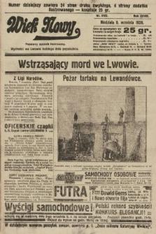 Wiek Nowy : popularny dziennik ilustrowany. 1928, nr8165