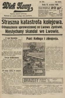 Wiek Nowy : popularny dziennik ilustrowany. 1928, nr8167