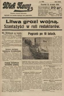 Wiek Nowy : popularny dziennik ilustrowany. 1928, nr8168