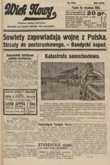 Wiek Nowy : popularny dziennik ilustrowany. 1928, nr8169