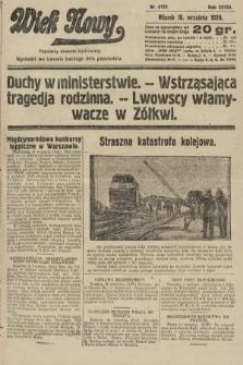 Wiek Nowy : popularny dziennik ilustrowany. 1928, nr8172