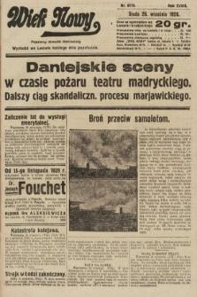 Wiek Nowy : popularny dziennik ilustrowany. 1928, nr8179