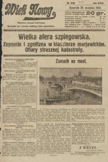 Wiek Nowy : popularny dziennik ilustrowany. 1928, nr8180