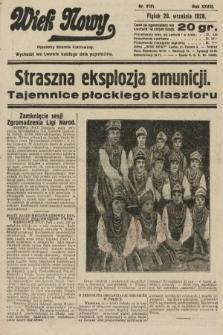 Wiek Nowy : popularny dziennik ilustrowany. 1928, nr8181