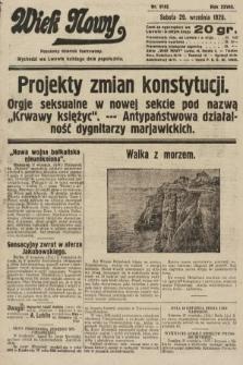 Wiek Nowy : popularny dziennik ilustrowany. 1928, nr8182