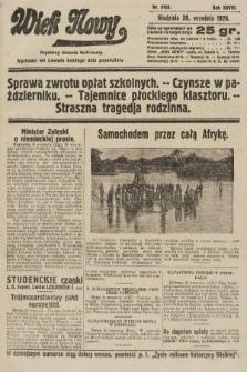 Wiek Nowy : popularny dziennik ilustrowany. 1928, nr8183