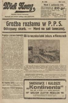 Wiek Nowy : popularny dziennik ilustrowany. 1928, nr8184