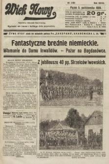 Wiek Nowy : popularny dziennik ilustrowany. 1928, nr8187