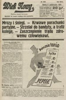 Wiek Nowy : popularny dziennik ilustrowany. 1928, nr8188