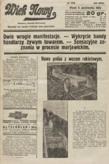 Wiek Nowy : popularny dziennik ilustrowany. 1928, nr8190