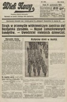 Wiek Nowy : popularny dziennik ilustrowany. 1928, nr8191