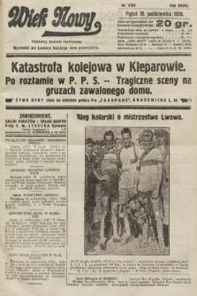 Wiek Nowy : popularny dziennik ilustrowany. 1928, nr8193