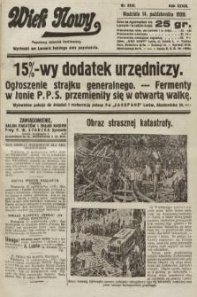 Wiek Nowy : popularny dziennik ilustrowany. 1928, nr8195