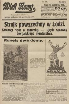 Wiek Nowy : popularny dziennik ilustrowany. 1928, nr8196