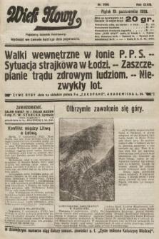 Wiek Nowy : popularny dziennik ilustrowany. 1928, nr8199