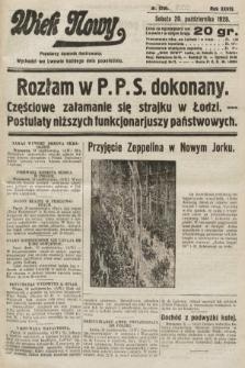 Wiek Nowy : popularny dziennik ilustrowany. 1928, nr8200
