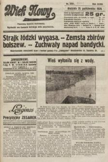 Wiek Nowy : popularny dziennik ilustrowany. 1928, nr8201