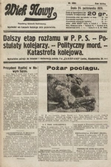 Wiek Nowy : popularny dziennik ilustrowany. 1928, nr8203
