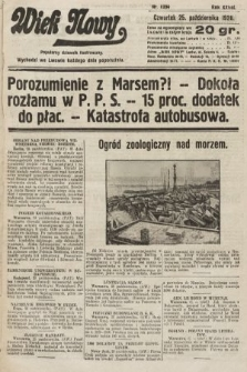 Wiek Nowy : popularny dziennik ilustrowany. 1928, nr8204