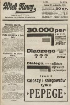 Wiek Nowy : popularny dziennik ilustrowany. 1928, nr8206