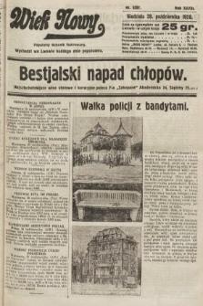 Wiek Nowy : popularny dziennik ilustrowany. 1928, nr8207