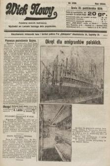 Wiek Nowy : popularny dziennik ilustrowany. 1928, nr8209