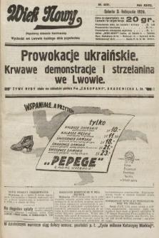 Wiek Nowy : popularny dziennik ilustrowany. 1928, nr8211
