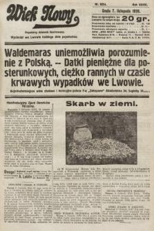 Wiek Nowy : popularny dziennik ilustrowany. 1928, nr8214