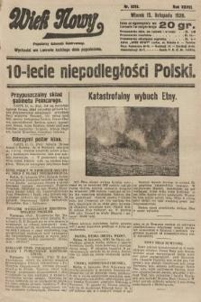 Wiek Nowy : popularny dziennik ilustrowany. 1928, nr8219