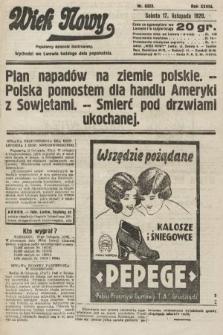 Wiek Nowy : popularny dziennik ilustrowany. 1928, nr8223