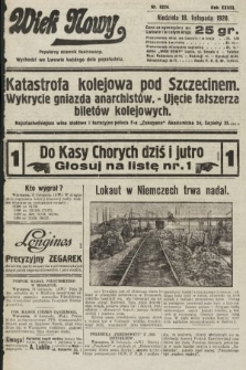 Wiek Nowy : popularny dziennik ilustrowany. 1928, nr8224
