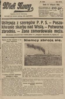 Wiek Nowy : popularny dziennik ilustrowany. 1928, nr8226