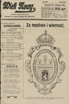 Wiek Nowy : popularny dziennik ilustrowany. 1928, nr8227