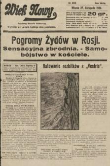 Wiek Nowy : popularny dziennik ilustrowany. 1928, nr8231