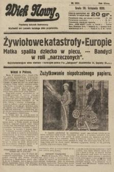 Wiek Nowy : popularny dziennik ilustrowany. 1928, nr8232