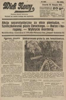 Wiek Nowy : popularny dziennik ilustrowany. 1928, nr8233