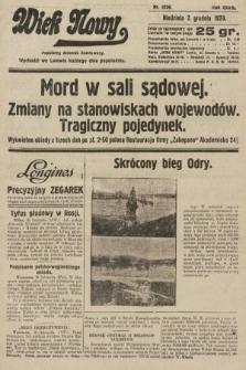 Wiek Nowy : popularny dziennik ilustrowany. 1928, nr8236
