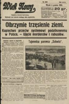 Wiek Nowy : popularny dziennik ilustrowany. 1928, nr8237