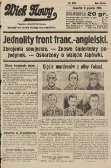 Wiek Nowy : popularny dziennik ilustrowany. 1928, nr8239