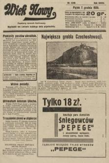 Wiek Nowy : popularny dziennik ilustrowany. 1928, nr8240