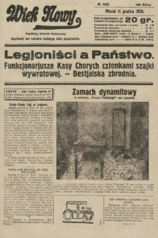 Wiek Nowy : popularny dziennik ilustrowany. 1928, nr8242
