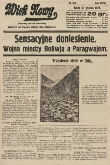 Wiek Nowy : popularny dziennik ilustrowany. 1928, nr8243